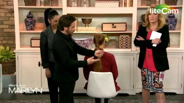 Rino on The Marilyn Denis Show (Jan-23.2015)