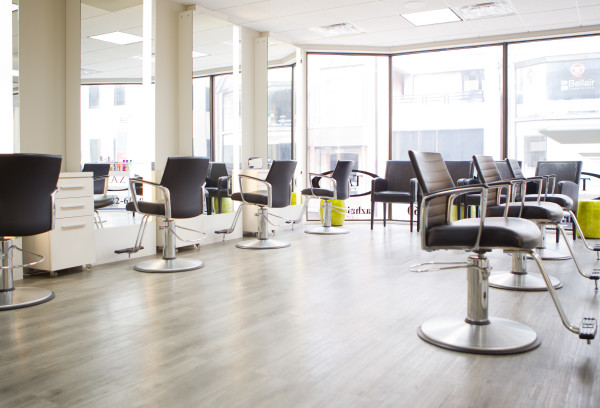 Hair Salon Yorkville Picture of Chairs